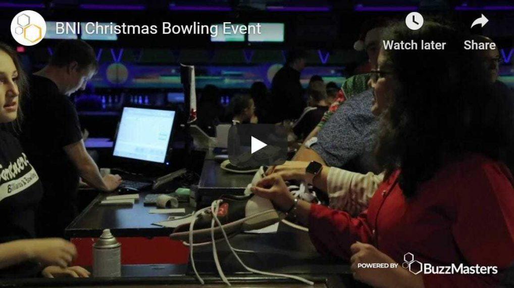 bni north bay nipissing holiday bowling event buzzmasters