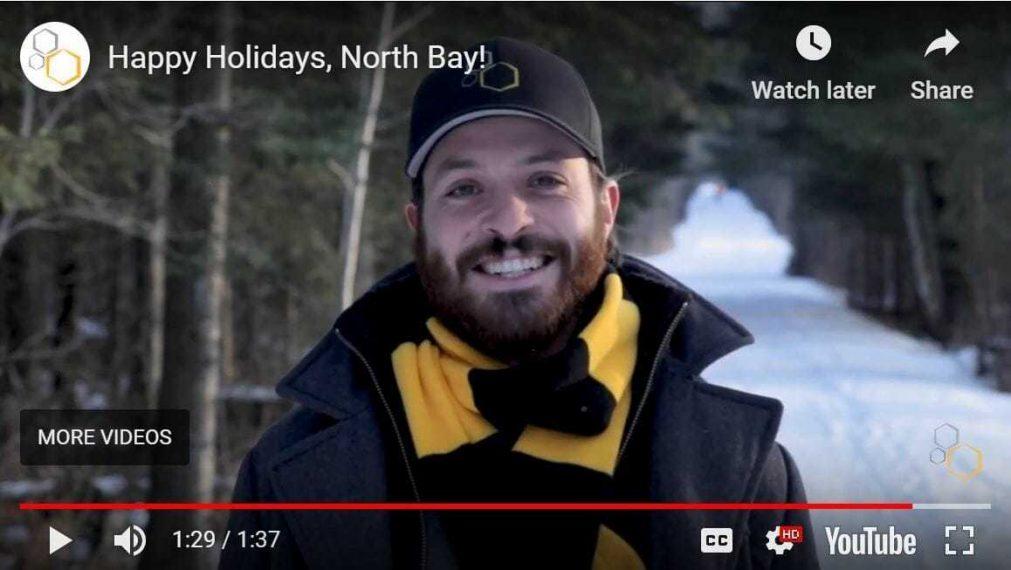 happy holidays 2020 buzzmasters north bay
